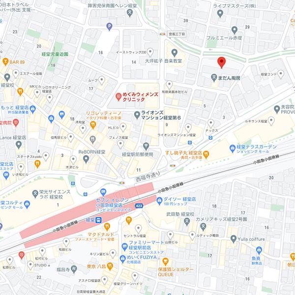 チャームスイート経堂マップ
